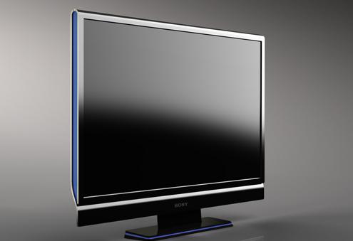 项目名称:平板电视机工业设计